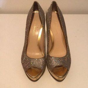 Enzo Angiolini sparkled heels